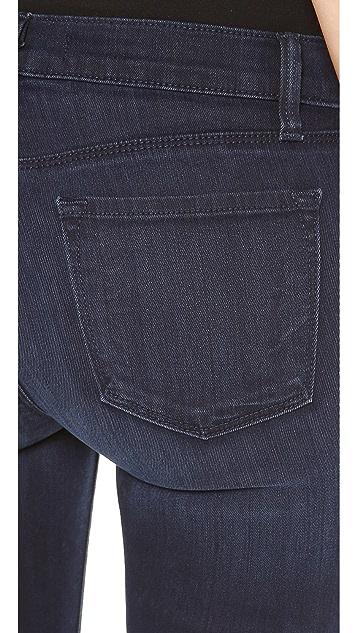 J Brand Mid Rise Super Skinny Jeans