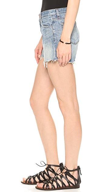 J Brand Carly Rigid Denim Shorts