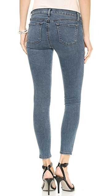 J Brand 835 Mid Rise Photo Ready Cropped Skinny Jeans