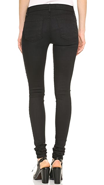 J Brand 624 Stacked Stocking Super Skinny Jeans
