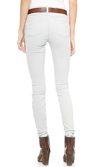 J Brand 624 Mid Rise Stacked Super Skinny Corduroys