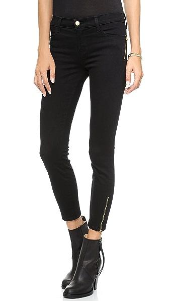 J Brand 8040 Tali Zip Photo Ready Jeans