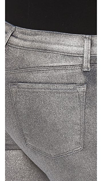 J Brand 624 Stacked Super Skinny Stocking Jeans