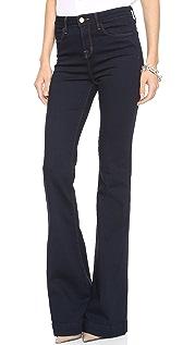 J Brand Расклешенные джинсы с высокой талией Doll
