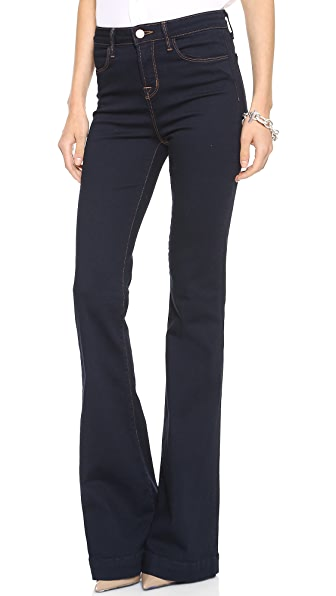 J Brand The Doll High Waist Bell Bottom Jean
