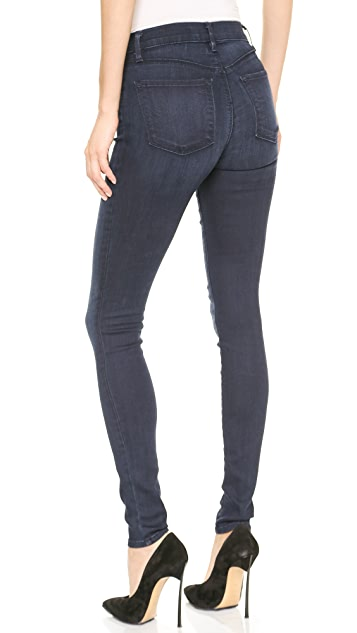 J Brand Maria High Rise Stocking Jeans