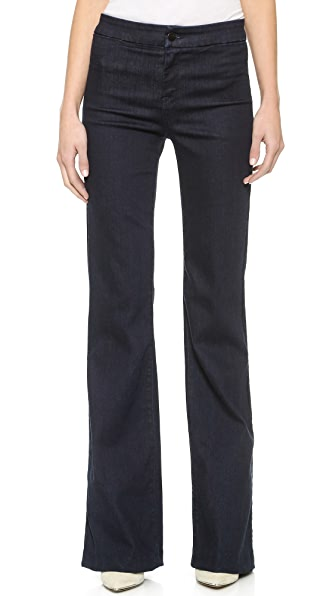 J Brand Tailored High Rise Flare Jeans | 15% off first app ...