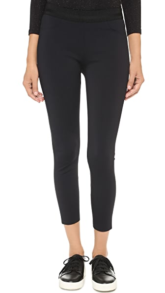 J Brand Quinn Scuba Cropped Leggings