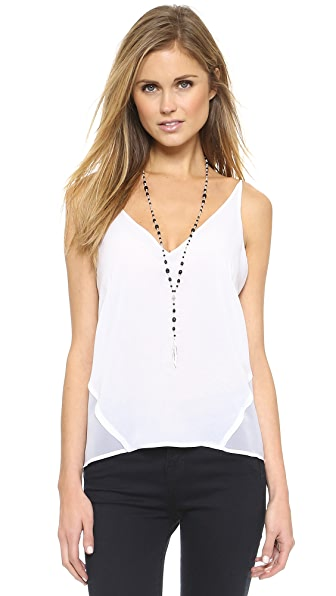J Brand Lucy Camisole - White