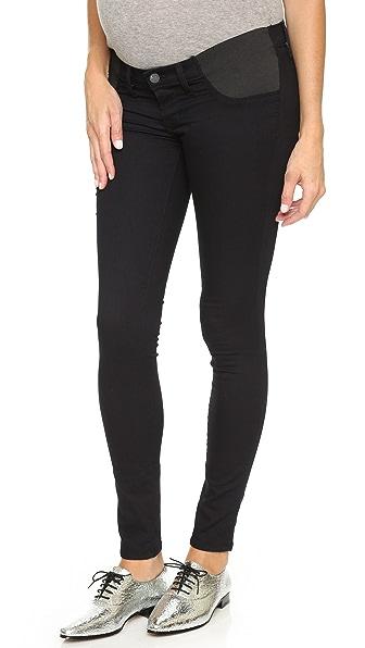 J Brand 3401 Maternity Legging Jeans - Pitch