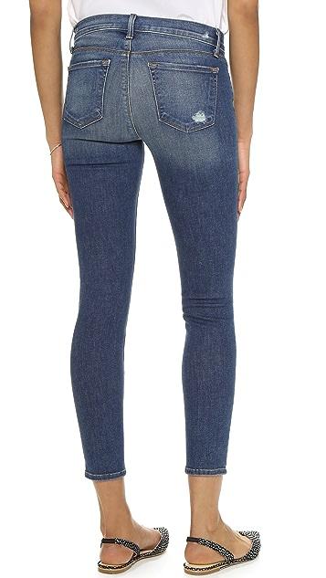 J Brand Skinny Cropped Jeans