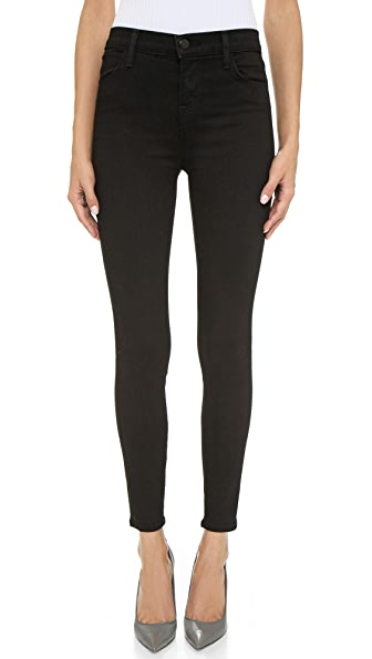 J Brand High Rise Alana Jeans In Vanity