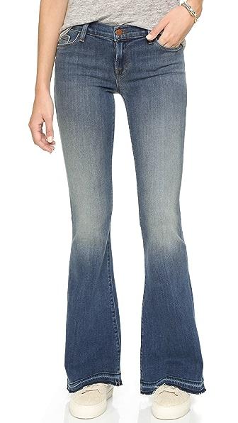 J Brand Sneaker Flare Jeans | SHOPBOP