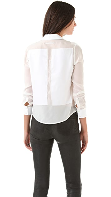 J Brand Ready-to-Wear Aaren Long Sleeve Shirt