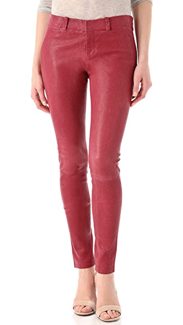 J Brand Ready-to-Wear Carin Leather Trousers
