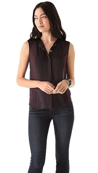 J Brand Ready-to-Wear Bridget Sleeveless Shirt