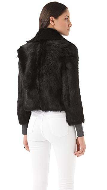 J Brand Ready-to-Wear Reversible Clio Fur Jacket