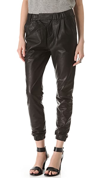 J Brand Ready-to-Wear Blair Leather Pants