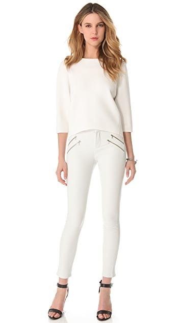 J Brand Ready-to-Wear Claudette Leather Pants