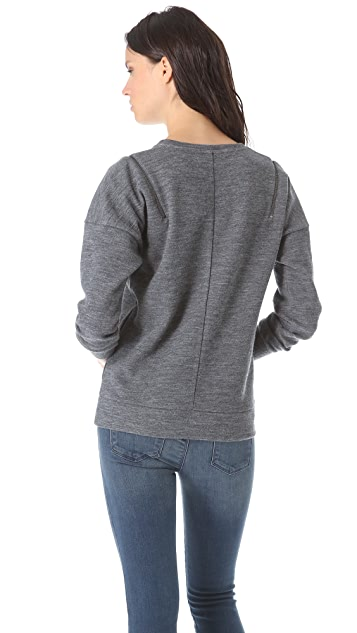 J Brand Ready-to-Wear Katarina Sweatshirt Top