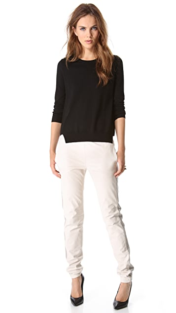 J Brand Ready-to-Wear Masako Leather Pants
