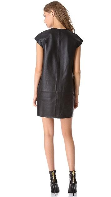 J Brand Ready-to-Wear Isobel Leather Dress