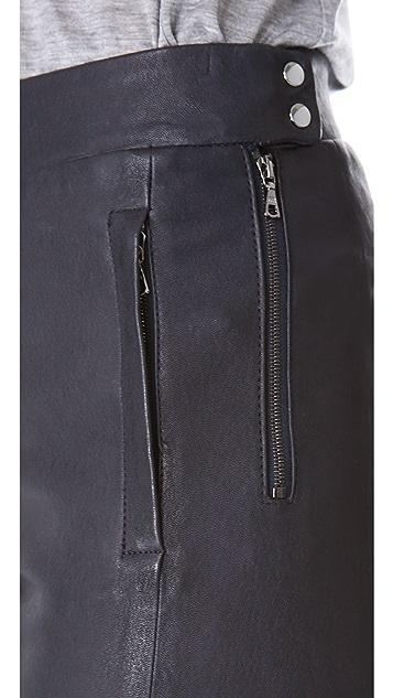 J Brand Ready-to-Wear Morgan Leather Pants