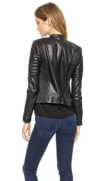 J Brand Ready-to-Wear Crista Leather Jacket