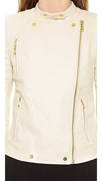 J Brand Ready-to-Wear Crista Leather Jacket