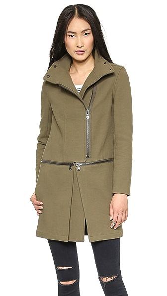 J Brand Ready-to-Wear Anise Zip Off Coat