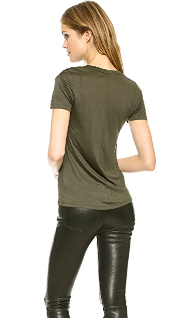 J Brand Ready-to-Wear Frida Crew Neck Tee