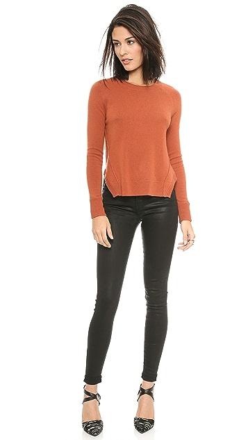 J Brand Ready-to-Wear Eugenia Cashmere Sweater