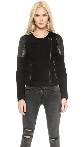 J Brand Ready-to-Wear Ranya Leather Jacket