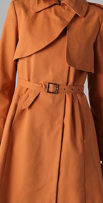 Just Cavalli Canvas Trench Coat
