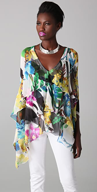 Just Cavalli Floral Tunic