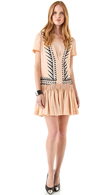 Just Cavalli Drop Waist Dress