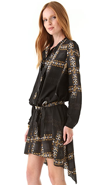 Just Cavalli Leopard Shirtdress
