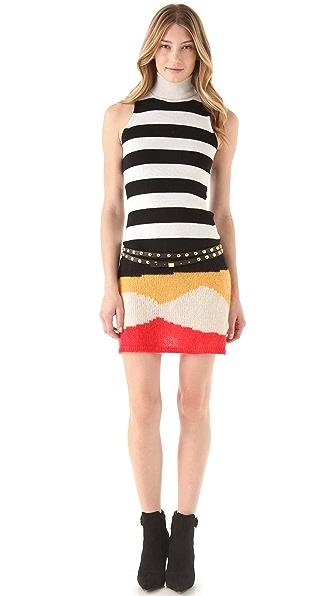 Just Cavalli Sleeveless Sweater Dress