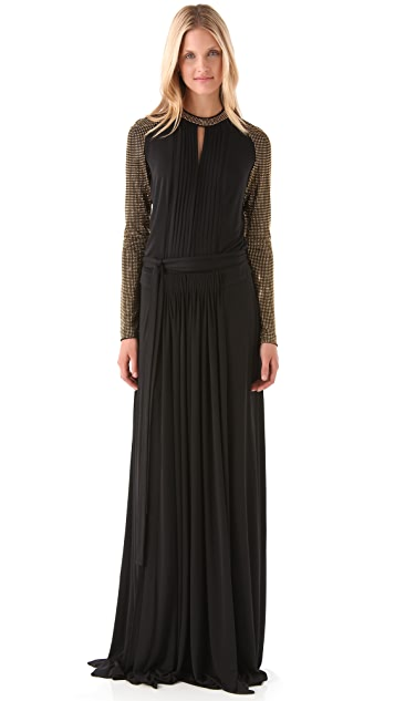 Just Cavalli Open Back Gown