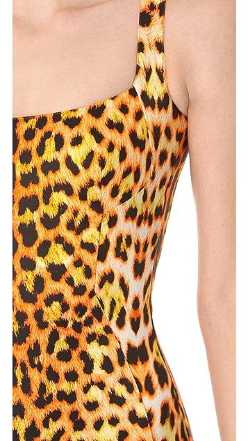 Just Cavalli Leopard Sheath Dress