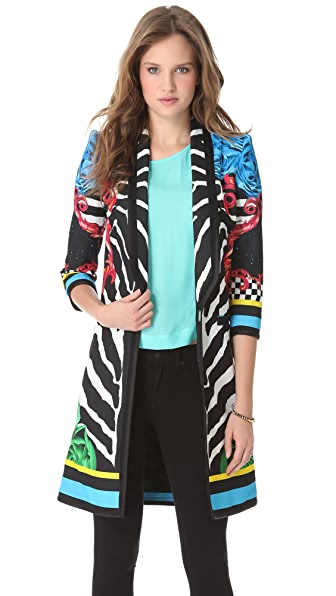 Just Cavalli Orpheus Printed Coat