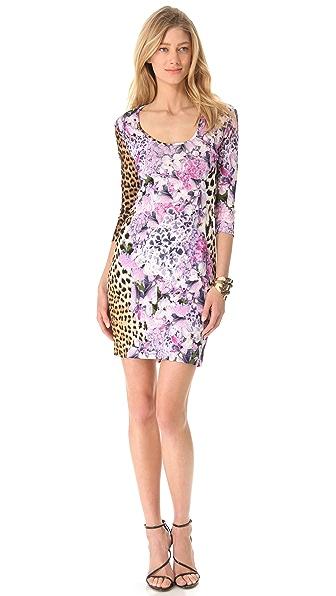 Just Cavalli Leo 3/4 Sleeve Dress