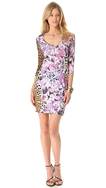 Just Cavalli Leo 3/4 Sleeve Dress