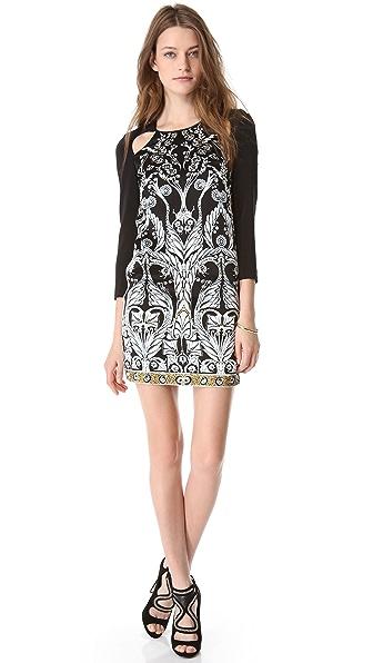 Just Cavalli Cutout Shift Dress