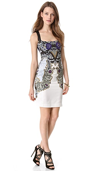 Just Cavalli Baroque Sleeveless Dress