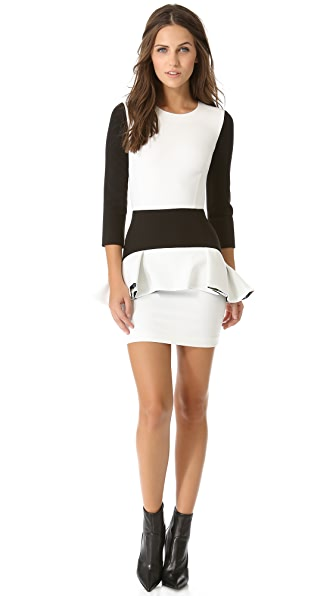 Just Cavalli Peplum Dress