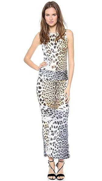 Just Cavalli Print Maxi Dress
