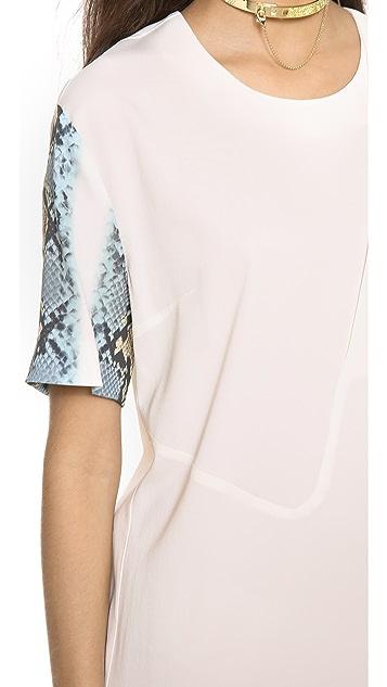 Just Cavalli Short Sleeve Dress