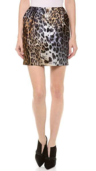 Just Cavalli Leo Degrade Print Miniskirt