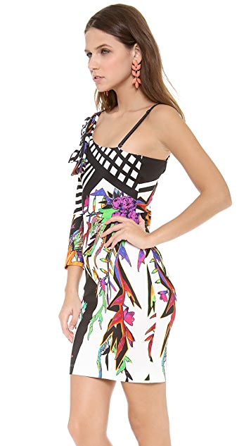 Just Cavalli One Shoulder Dress